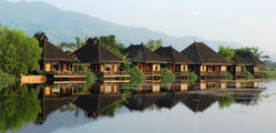 Inle Princess Resort - Front View Chalets