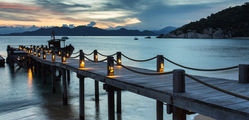 Six Senses Ninh Vanh Bay - Jetty at Dusk