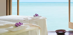 One & Only Reethi Rah - Overwater treatment section   couples suite