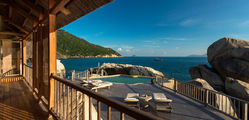 Six Senses Ninh Vanh Bay - The Rock Retreat Pool Deck