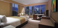Traders Singapore  - Traders Twin Towers View Room. King copy